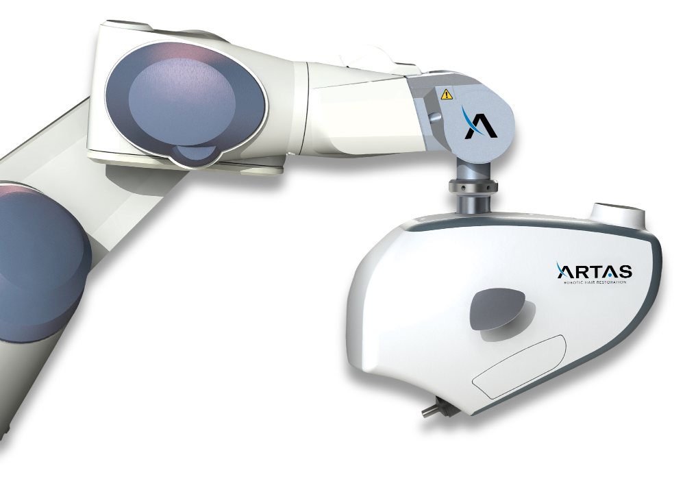 ARTAS robotic hair transplant device.