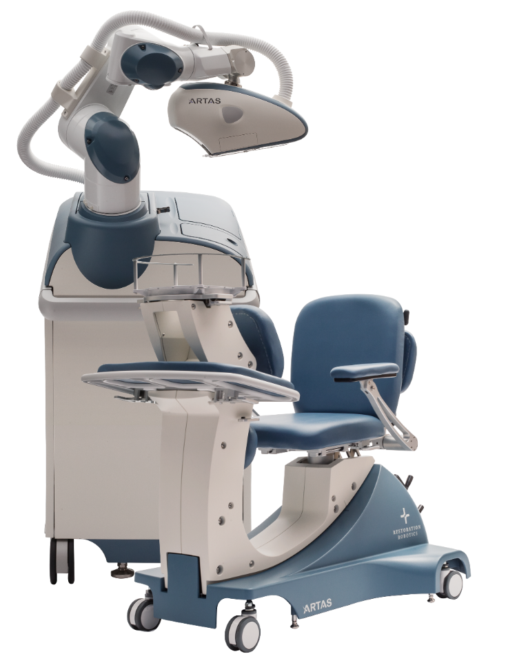 The ARTAS robotic hair transplant system is the most innovative technology in hair restoration.