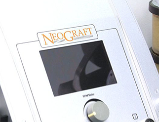 Up close look at the NeoGraft Hair Transplant Device