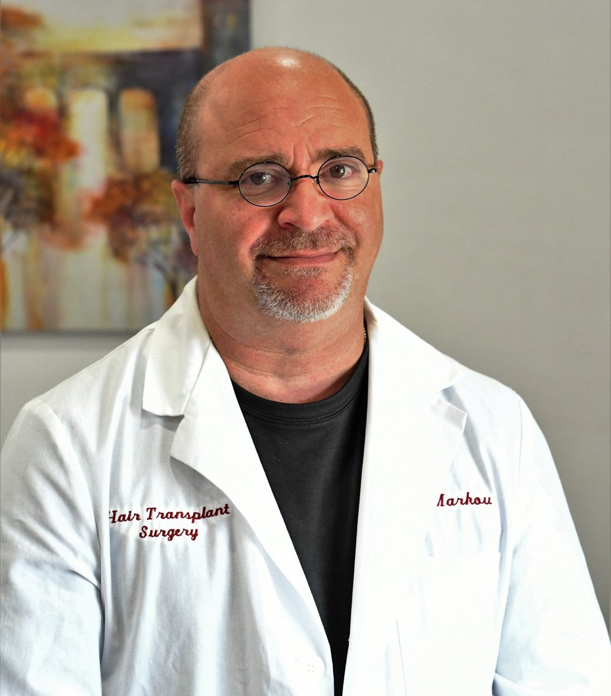 Dr. Michael Markou at Tampa Bay Hair Restoration in Florida.